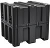 Pelican AL3834-1617 Single Lid Cube Shipping Case with Foam - Black -- PEL-AL3834-1617RPF032 -Image