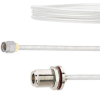 SMA Male to N Female Bulkhead Cable FM-SR141TB Coax in 18 Inch -- FMCA2098-18 -- View Larger Image