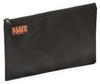 Nylon Zipper Storage Bag,Black,17 x12 In -- 9LLA7