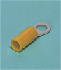 Solderless Terminals -- Ring tongue terminal (R-type, Nylon-insulated) (straight) - Image