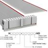 Rectangular Cable Assemblies -- H1CXH-2636G-ND -Image