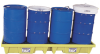 4 Drum In -Line Spill Containment Pallet w/out Drain -- PAL456