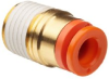 SMC KQ2S07-35S PBT One-Touch Tube Fitting with Sealant, … -- KQ2S07-35S