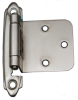 Semi-Concealed Hinges, Variable Overlay, Self.. -- 408302