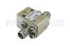 Isolator with 18 dB Isolation from 7 GHz to 12.4 GHz, 10 Watts and SMA Female -- PE83IR000 -Image