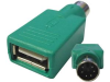 PS/2 Male to USB A Female Adapter -- 85-639