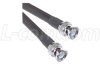 RG213 Coaxial Cable BNC Male / Male 5.0 ft -- CC213B-5