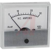 AC Ammeter; Ammeter Meter Type; 0 to 30A; 5 %; 2.5 in.; 0.182 in.; 850 Series -- 70136717