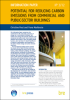 Potential for reducing carbon emissions from commercial and public-sector buildings -- IP3/12
