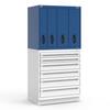 R2V Vertical Drawer Cabinet -- RL-5HEG38002N -- View Larger Image