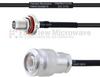 SMA Female Bulkhead to TNC Male MIL-DTL-17 Cable M17/119-RG174 Coax in 16 Inch -- FMHR0113-16 -Image