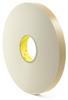 3M 4496 Double Coated Polyethylene Foam Tape White 1 in x 36 yd Roll -- 4496 WHITE 1IN X 36YDS