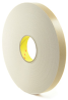 3M 4496 Double Coated Polyethylene Foam Tape White 1 in x 36 yd Roll -- 4496 WHITE 1IN X 36YDS -Image
