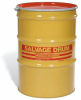 Bolt& Ring Open-Head UN Rated Steel Salvage Drum -- DRM400 -Image