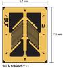 Shear or Torque App. Strain Gage -- SGT-2DH/350-SY43