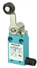 MICRO SWITCH NGC Series Global Limit Switch: plastic housing, side rotary with standard fixed length lever and 18 mm nylon roller, side exit connection, 1NC/1NO snap action silver contacts, UL, CE, cU -- NGCPA00PX01A1A