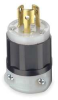 Locking Plug,Industrial,15 A,L5-15P -- 1PKK8 - Image