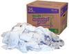 Sellars White Fleece Reclaimed Rags - 25 lb Punch-out Box - 99203 -- SELLARS 99203