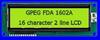 Alphanumeric -- FDA1602C - Image