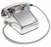 Asimitel 5500 CP-A32 All-Chrome No-Dial Desktop Telephone with Armored Cord - Image