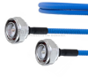 Low PIM 7/16 DIN Male to 7/16 DIN Male Plenum Cable SPP-250-LLPL Coax in 48 Inch and RoHS -- FMCA1305-48 -Image