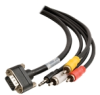 Cables To Go CMG-Rated HD15 SXGA + Composite Video +.. -- 40182