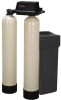 Twin Water Softeners with Fleck 9100 Valves, 30-60K -- PWSTA 30-60K