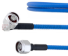 Low PIM RA N Male to N Male Plenum Cable SPP-250-LLPL Coax in 150 CM and RoHS -- FMCA1314-150CM -Image