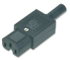 IEC POWER CONNECTOR, SOCKET, 10 A -- 17M9546