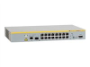 Allied Telesis AT 8000S/16 - switch - 16 ports - managed - desktop -- AT-8000S/16-10