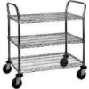 Medium Duty 3-Shelf Wire Cart -- EU3-1830C