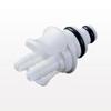 Twin Tube™ Coupling Insert, In-Line Hose Barb, Straight Thru -- PTC2202096 -Image