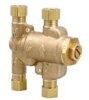 Lead Free* Under Sink Guardian Thermostatic Mixing Valve, Brass -- LFUSG-B