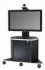 Video Furniture Int'l Package C - PMS-B Single Monitor Mount and PL3070 Monitor Cart for 32