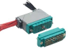 AVX INTERCONNECT - 00-8016-020-000-602 - RACK & PANEL CONNECTOR, PLUG 20WAY CRIMP -- 861392 - Image
