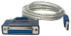 6ft USB to DB25 Female Parallel Converter -- USB-DB25F