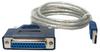 6ft USB to DB25 Female Parallel Converter -- USB-DB25F - Image