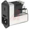 PowerEntryModule with Medical Version Line Filter,250VAC;10 A,2-Pole Fuseholder -- 70159989
