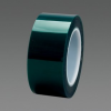 3M™ Polyester Tape 8992 Green, 1-1/4 in x 72 yd 3.5 mil, 9 per case Bulk -- 70006431095