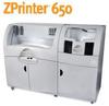 Z Corporation 3D Printers -- 650 Plus