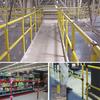 Poly-Coated Metal Corner Hand Railing -- GPR196