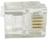 RJ11 6P4C Plug Flat Stranded 50 pcs per bag -- 68PG-2A -- View Larger Image