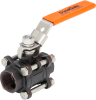 Carbon Steel 3-Piece Bolted In-Line Valve -- V6C Series - Image