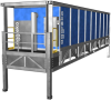 Industrial Cooling Tower Rental, 1000 Ton -- GT-40 - Image