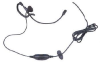O-202 Ear-Boom Microphone with PTT/ VOX Switch. w/straight connector for ICOM IC-F3, F4, F4S, etc -- O-202