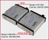 Quad USB Load Cell Extender/Isolator, Host & 4-Port Hub -- Model 4167-DIN and Model 4168-DIN