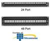 Leviton eXtreme 6+ QuickPort Patch Panel -- 69270-U48
