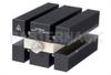 High Power 100 Watt RF Load Up To 8 GHz With SMA Female Input Conduction Cooled Body Black Anodized Aluminum Heatsink -- PE6220 -Image