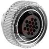 Connector; Plug; 16; Thermoplastic; 22;Zinc Alloy; Black; Metal; Nickel -- 70082995