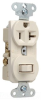 Combination Switch/Receptacle -- 671-LA -- View Larger Image